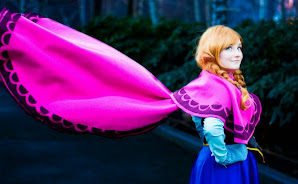 Amazing, Foto Princess Anna Frozen dalam kehidupan Nyata