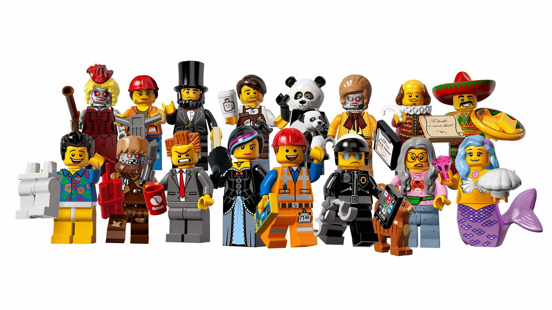 The Lego Movie Characters 9g