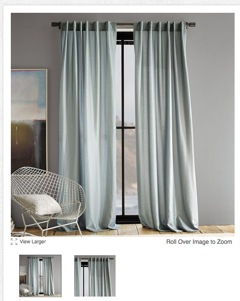 The Happy Homebodies West Elm Curtain Bargain