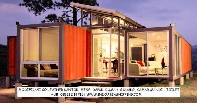 Jual Container Bekas Modifikasi Portacamp Office Mess