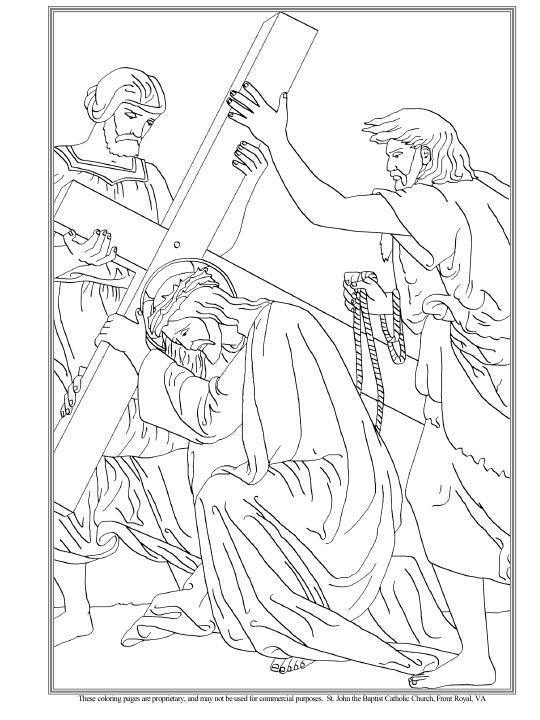 Jesús cae por primera vez