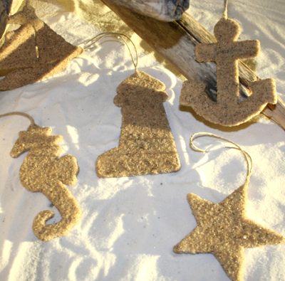 nautical sand ornaments