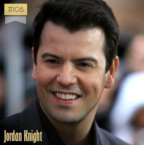 17 de mayo | Jordan Knight - @jordanknight | Info + vídeos