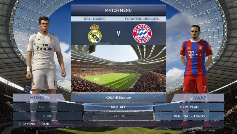 PES 2015 New PS4 Gameplay - YouTube