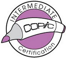 Copic Intermediate Certified!