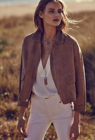 Massimo Dutti ropa mujer verano chaqueta ante