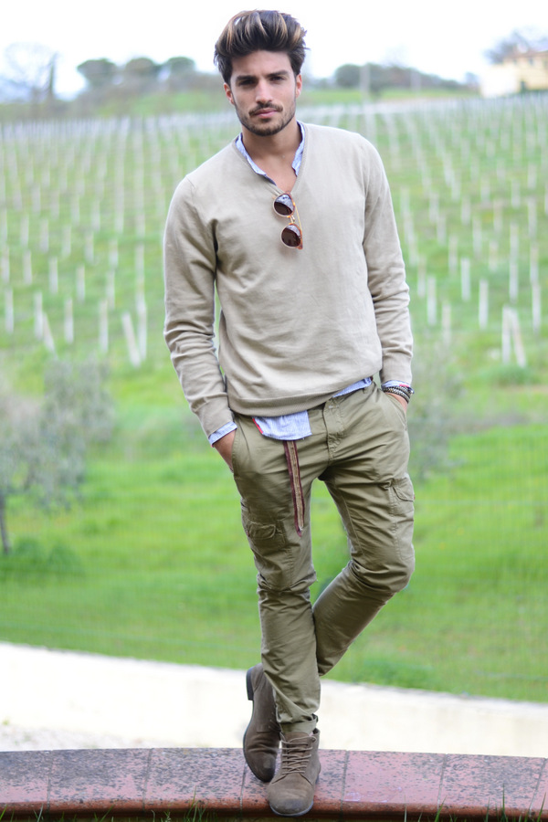 incredible outfit men green pants