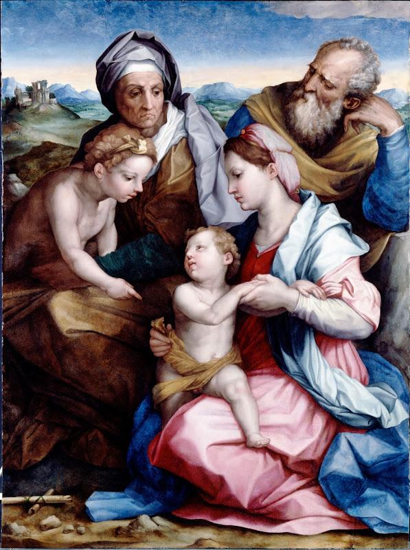 Andrea del Sarto - Holy Family