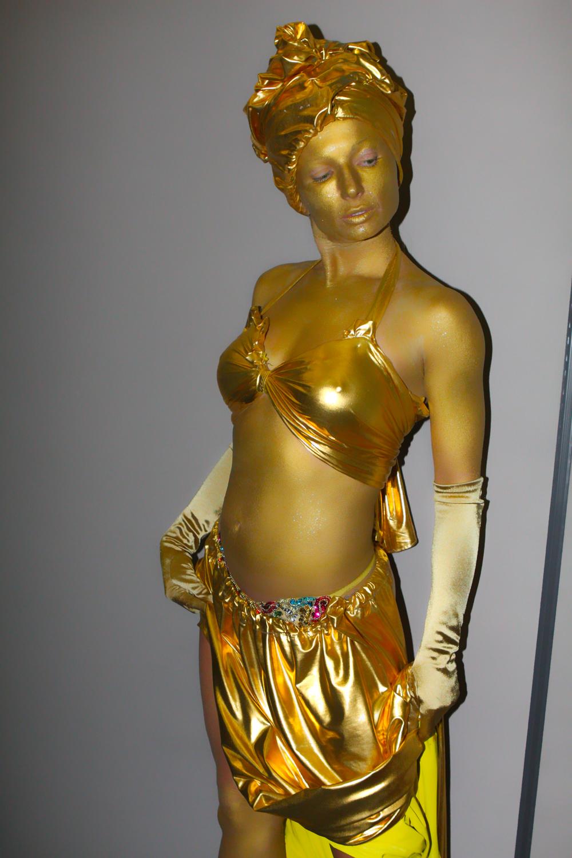 Golden Bodypainting - Bodyartist Bodypainter Eva Rinaldi Human ...