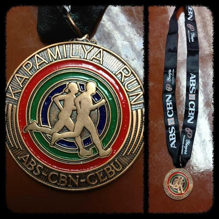 Kapamilya+Run+Finishers+Medal+2013