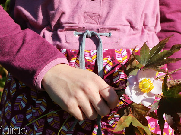 Wintersonne - Probenähen  Herbstkleid
