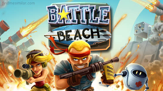 Battle Beach a game like Boom Beach