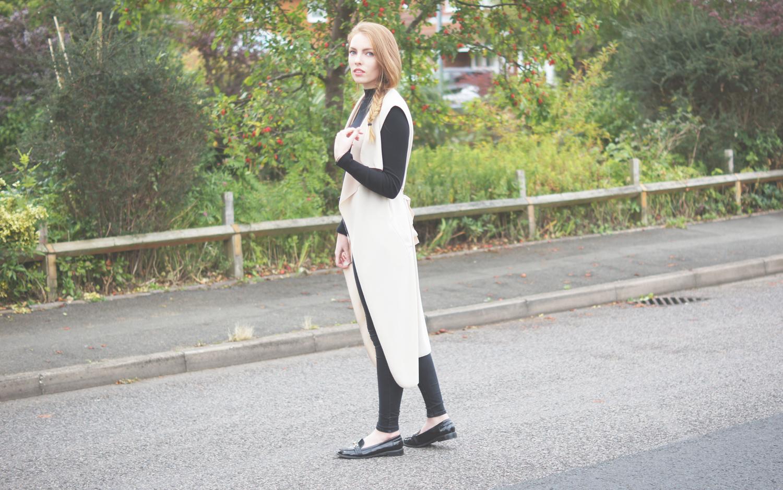 sleeveless coat missguided