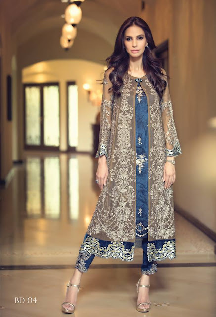 Maria B Mbroidered Collection 2015 With Prices