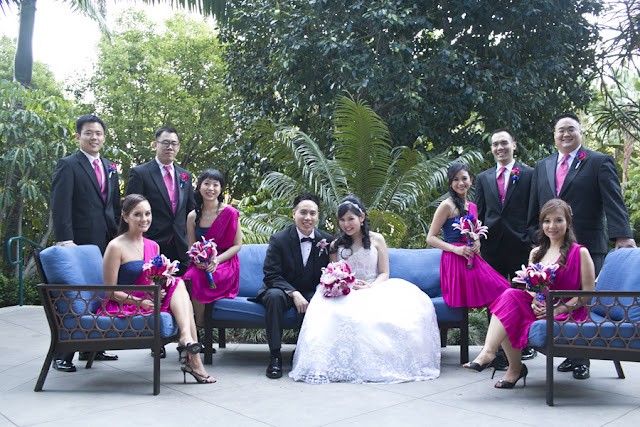 Wedding Party - Disneyland Wedding {Sarina Love Photography}