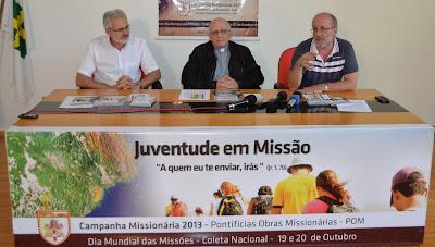 #CampanhaMissionária 2013 destaca juventude e missão universal da Igreja