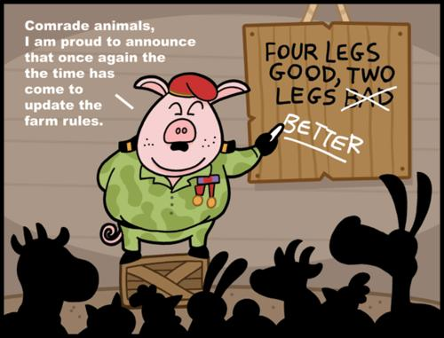 animal farm the animals bad memories essay