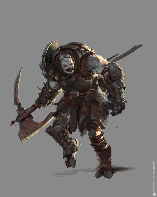 Bjorn Hurri ilustrações artes conceituais fantasia games Design de personagem de fantasia