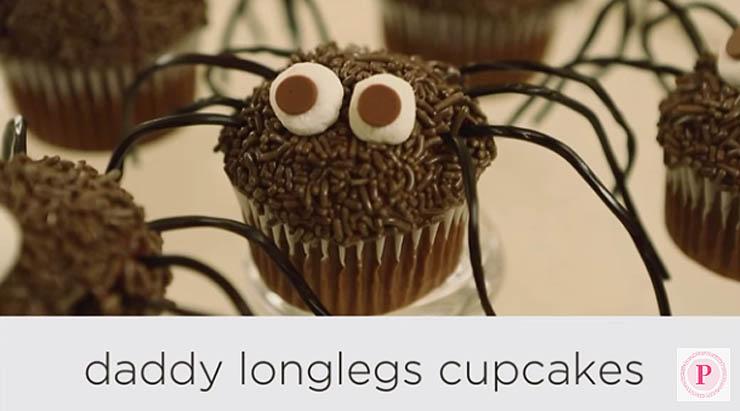 Spider Cupcakes - Halloween Dessert