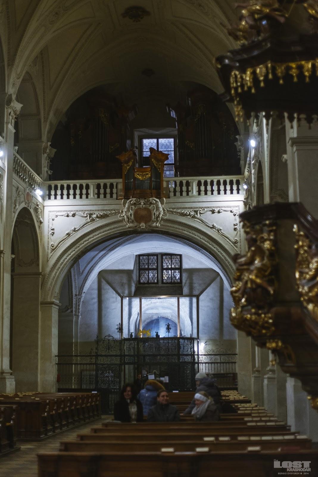 Орган в Kostel Nejsvětějšího Salvátora