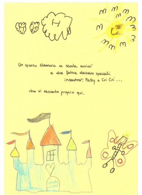 Di tinte brillantini e fatine per salutare le maestre for Frasi di saluto per bambini scuola infanzia