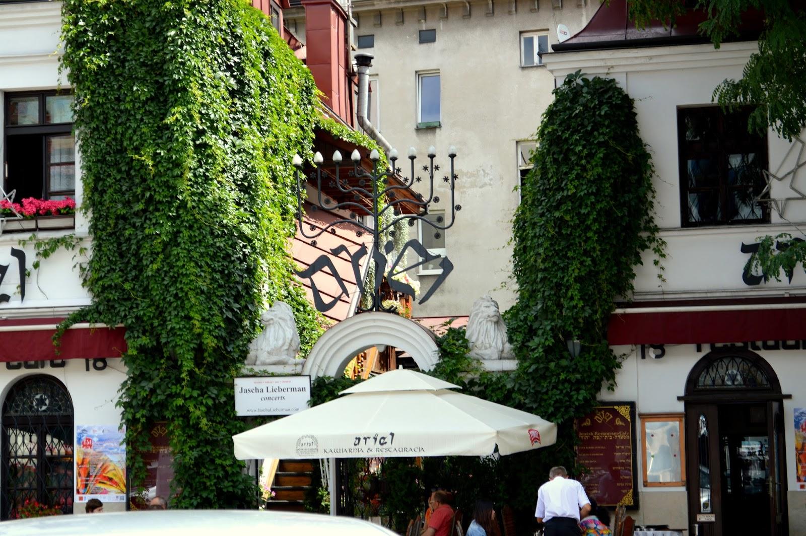 Terri sees the world krakow 39 s jewish quarter and ghetto for Terri restaurant
