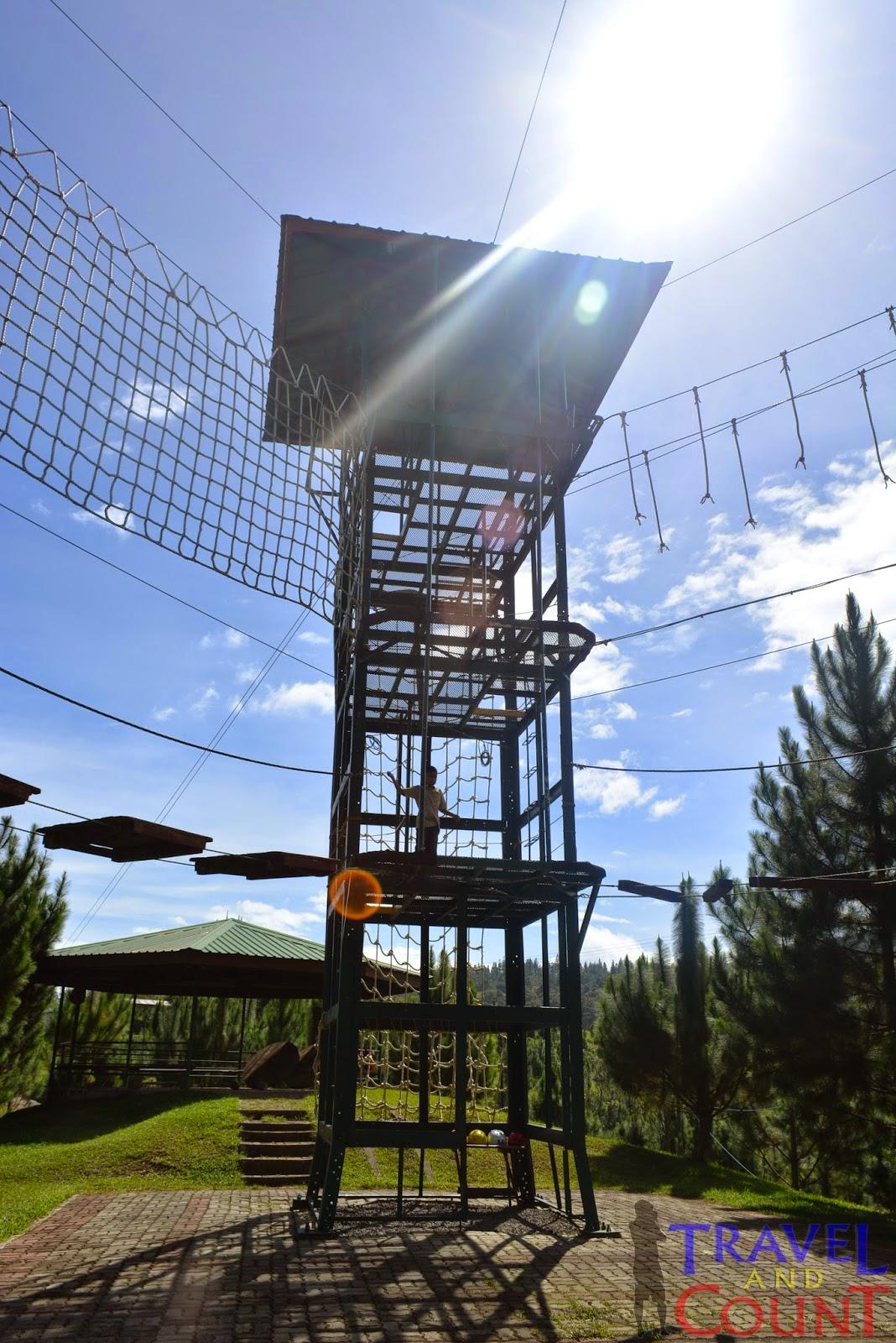 Dahilayan Park Ropes Courses Bukidnon