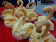 Swan Cream Puff
