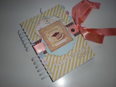 Receptár s blahoželaním / Cook book with a greeting card