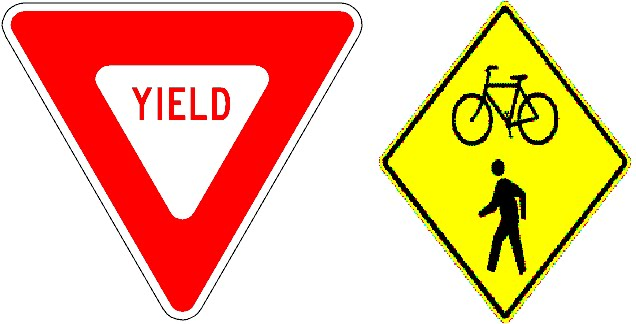 Yield Road Sign Manual...
