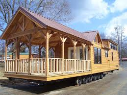 MODULAR HOME BUILDER Modular Park Models with Porches Now Fall