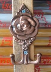 Hook Gorden Mawar Coklat
