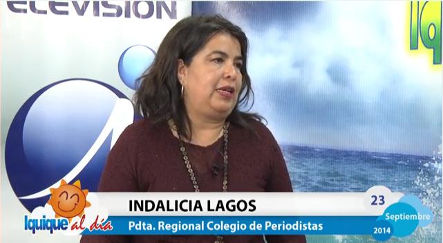 """Colegio de Periodistas de Chile en """"Iquique al Día"""" de Canal ITV"""