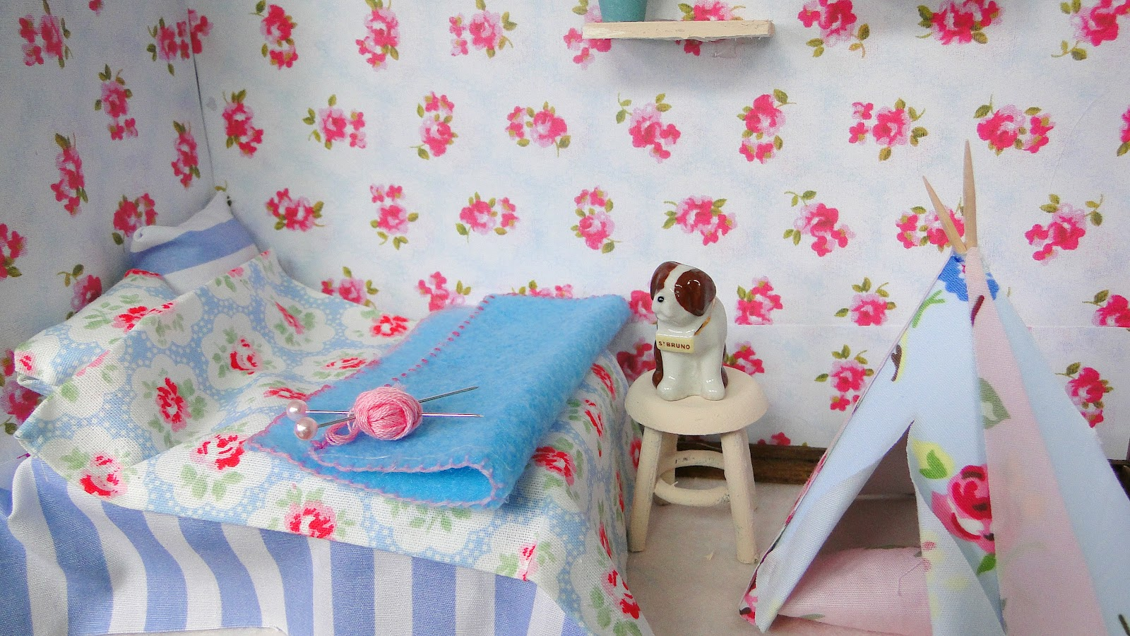 Miss beatrix cath kidston 39 make your dream room in a for Cath kidston bedroom ideas