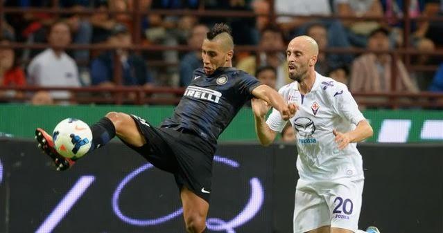 Fiorentina vs Inter Milan Italian Serie A