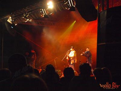 Concert Ducu Berti la Festivalul Vaii Muresului
