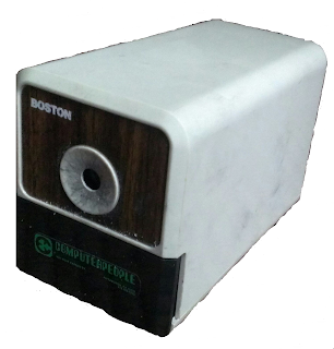 plug-in type pencil sharpener