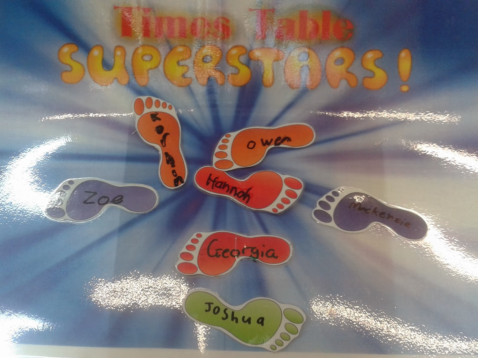 Times Table Now we have 7 children who have achieved all their times ...