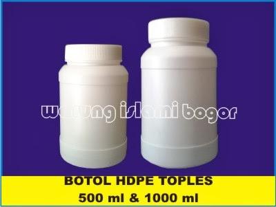 Jual Botol Toples HDPE