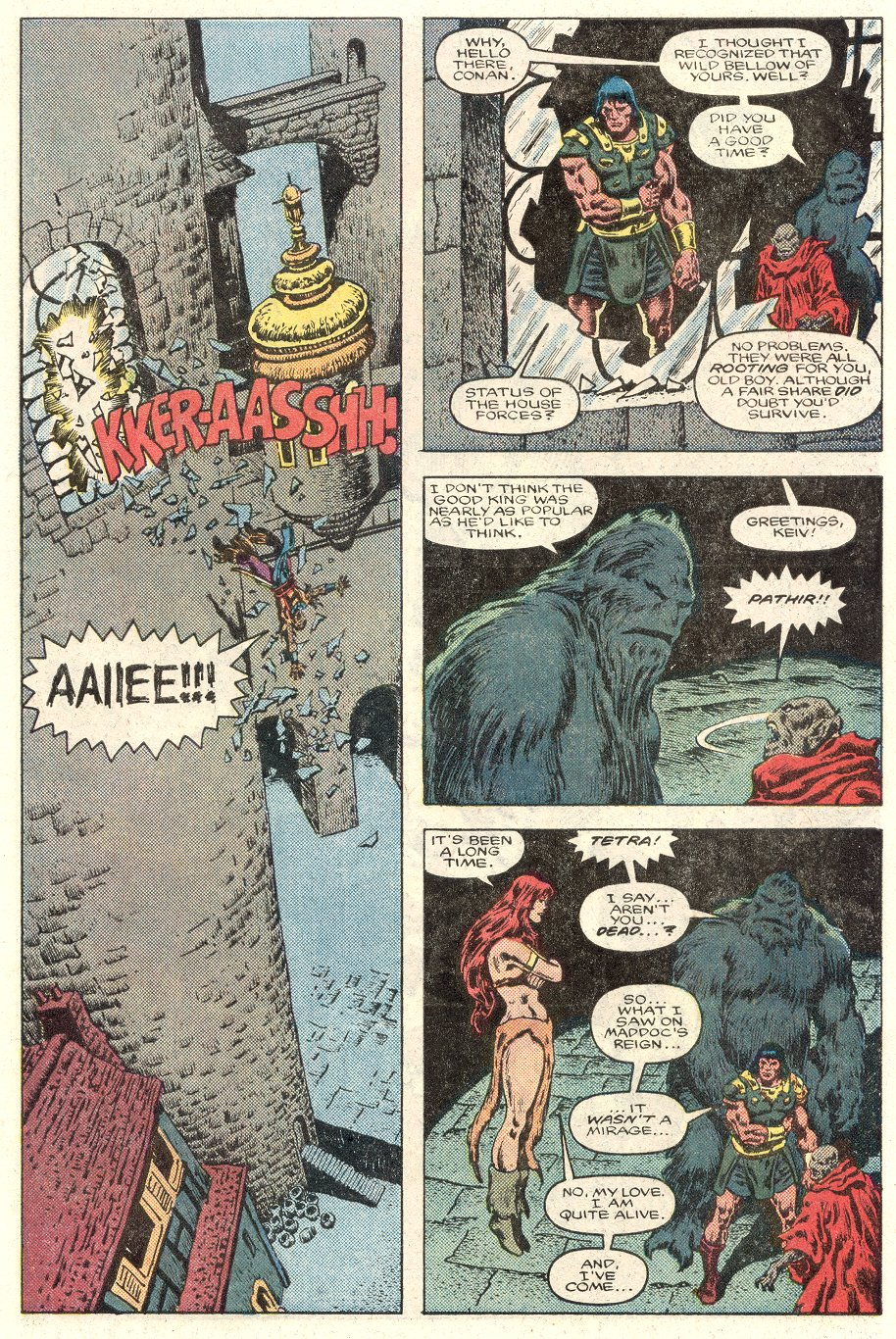 Conan the Barbarian (1970) Issue #184 #196 - English 23