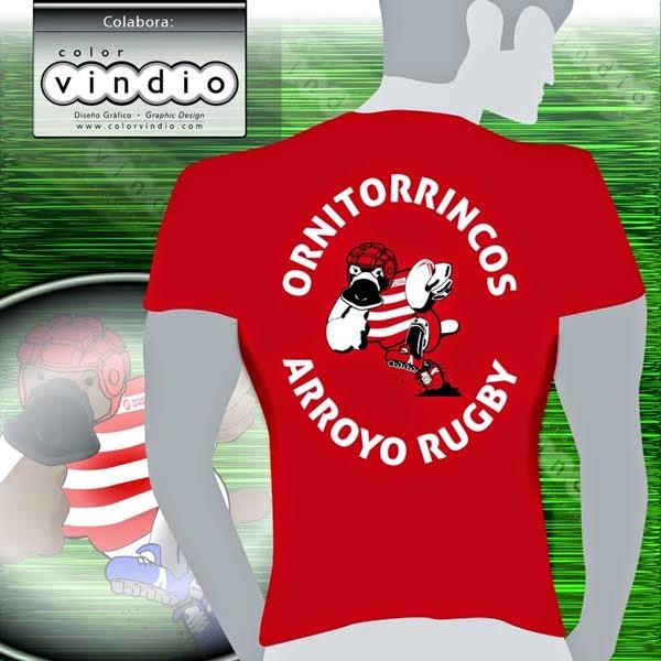 Camiseta Rugby Arroyo de la Encomienda