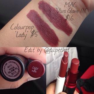 Dupethat mac viva glam iii dupes - Mac diva lipstick price ...