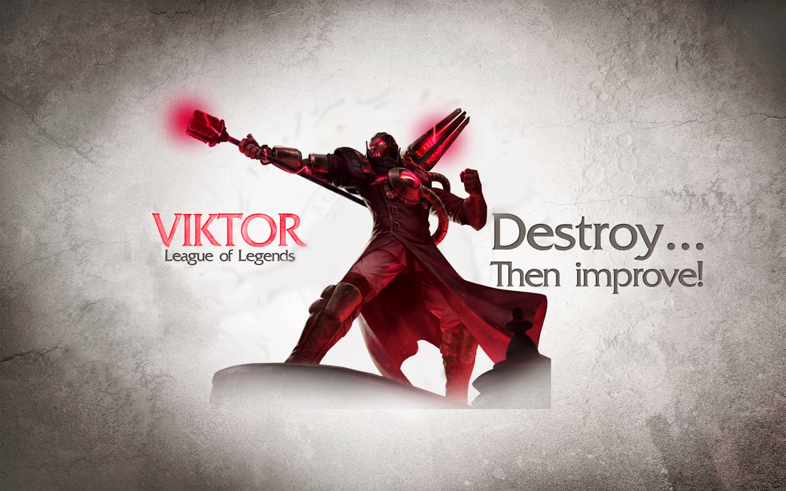 viktor league of legends wallpaper viktor desktop wallpaper