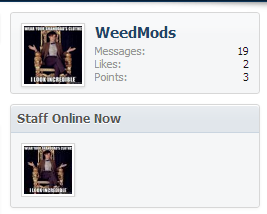 Staff Online In Columns (With Overlay) On xenForo