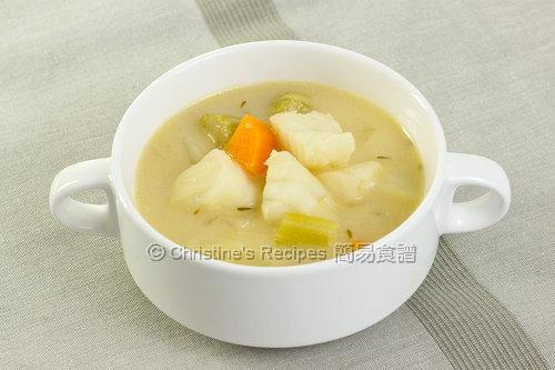 忌廉雜菜魚湯 Creamy Fish Vegetable Soup02
