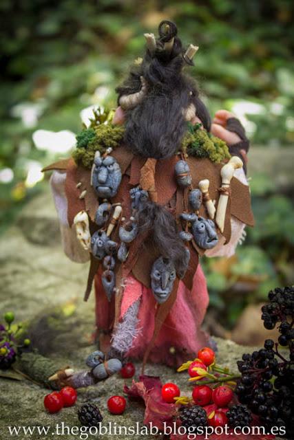 ooak doll fantasy magic goblin