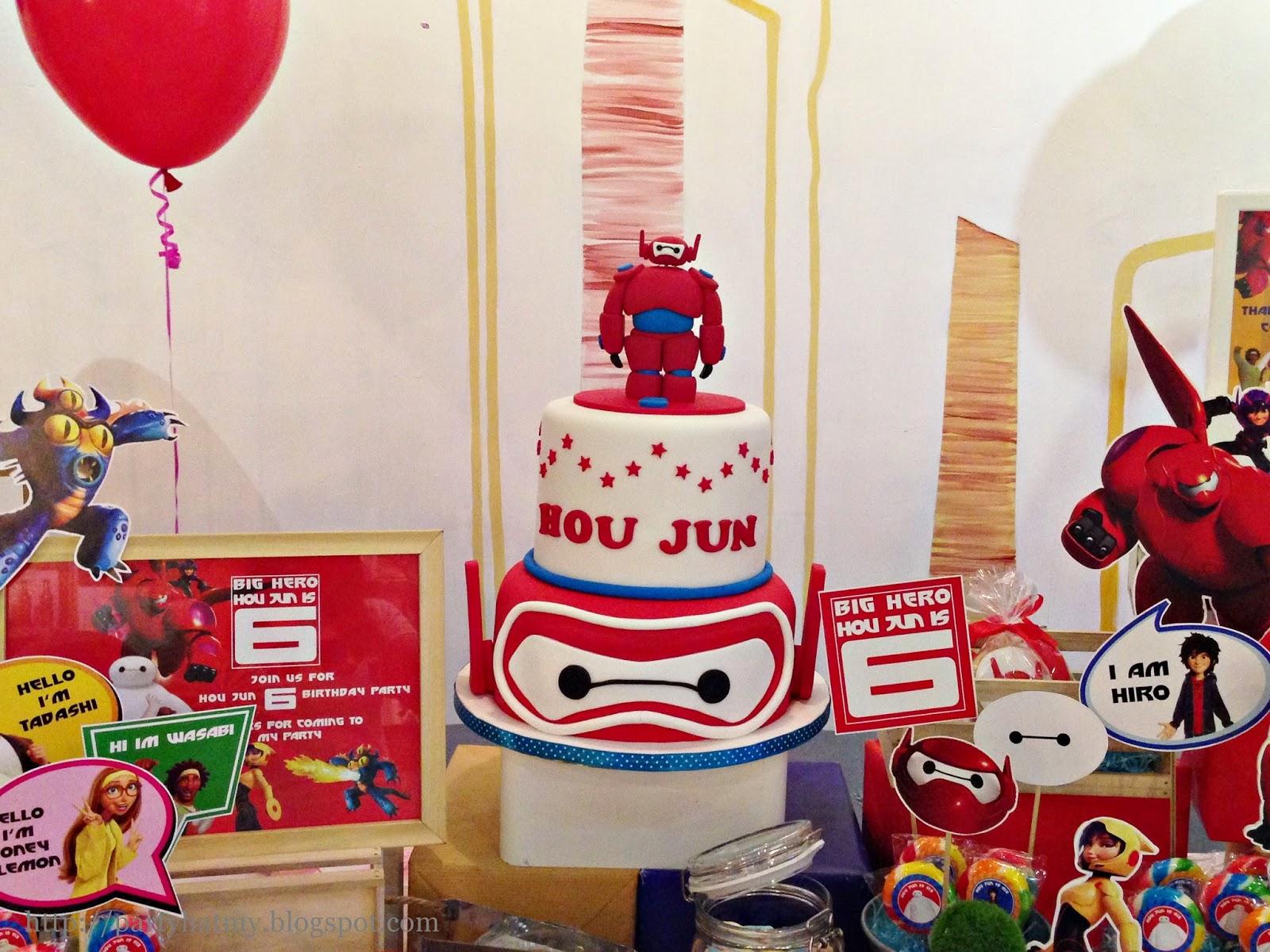 Big Hero 6 Birthday Party For Hou Jun
