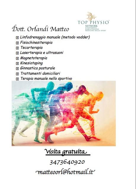 dott. Matteo Orlandi , Fisioterapista