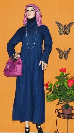 Gamis Jeans Fashion GJ1071