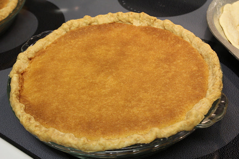 RisC Handmade: Perfect Pie Crust and Buttermilk Pie Recipe